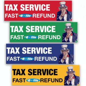 tax banner template 04