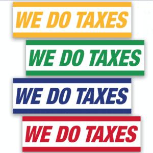 tax banner template 05