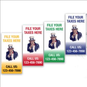 tax banner template 14